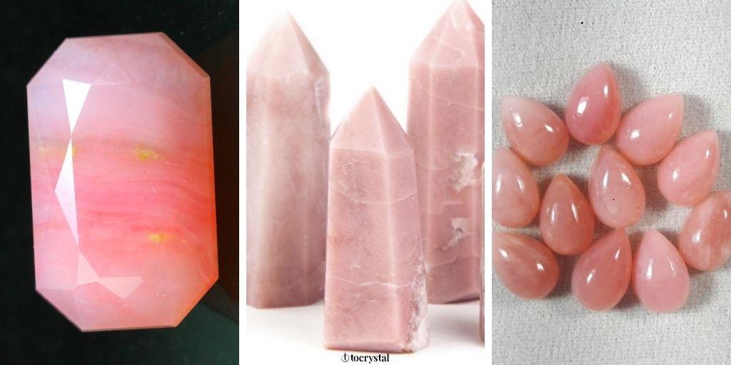 Pink Opal Healing Crystal