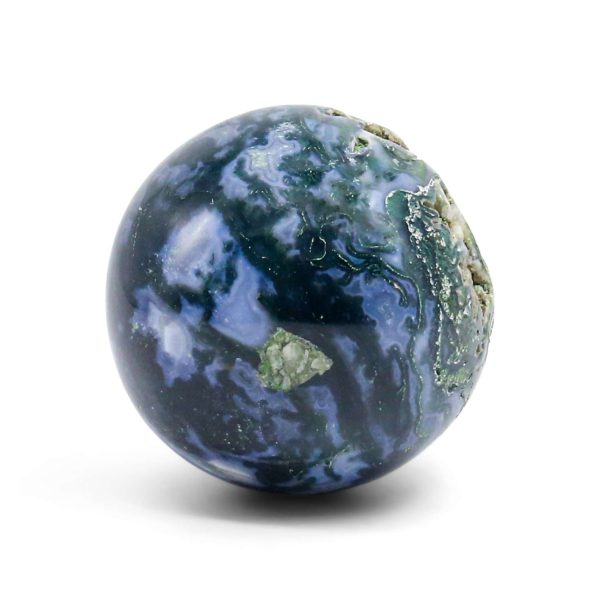 buy natural moss agate sphere wholesale online