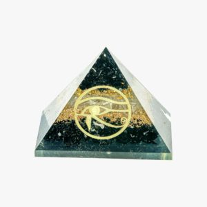 Buy black tourmaline selenite pyramid wholesale online