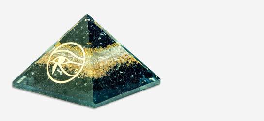 Healing Crystal Orgone Pyramid