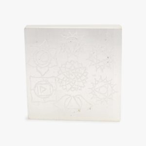 seven chakra selenite charging plate wholesale