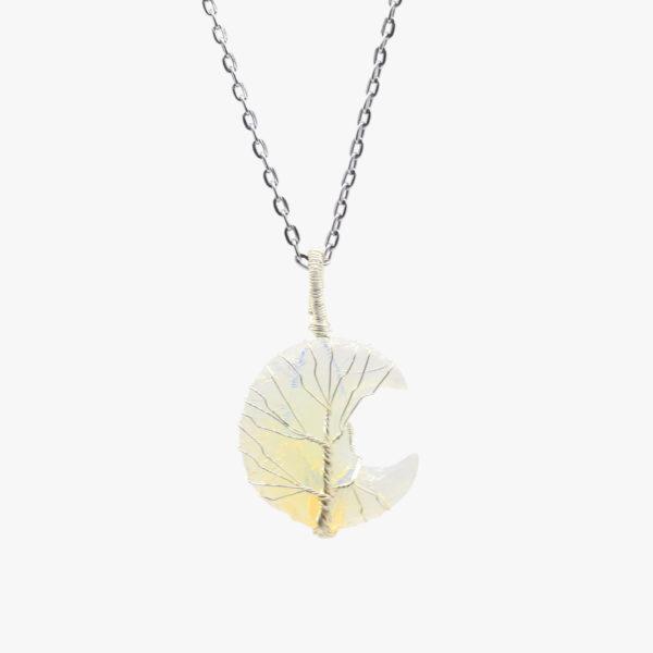 Buy opal moon carving pendant wholesale online