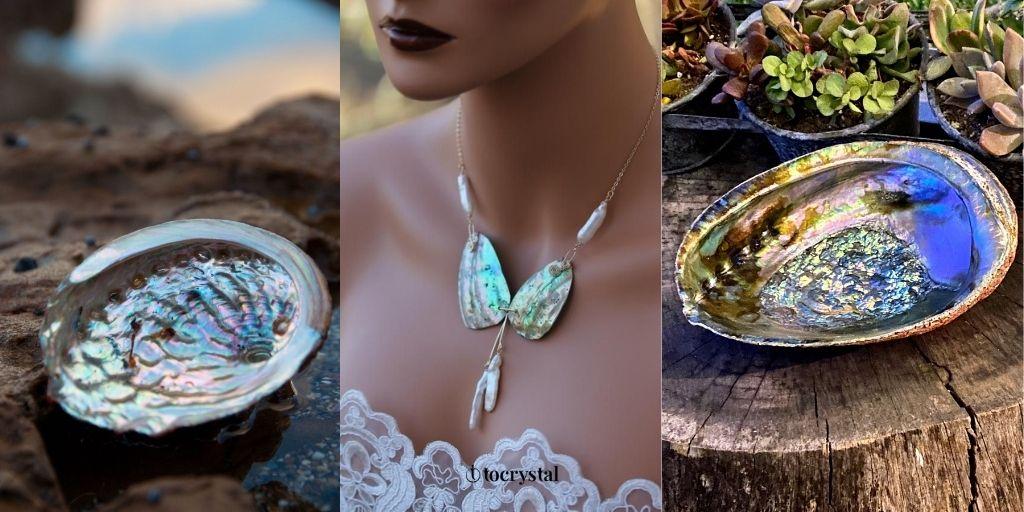 abalone healing crystal