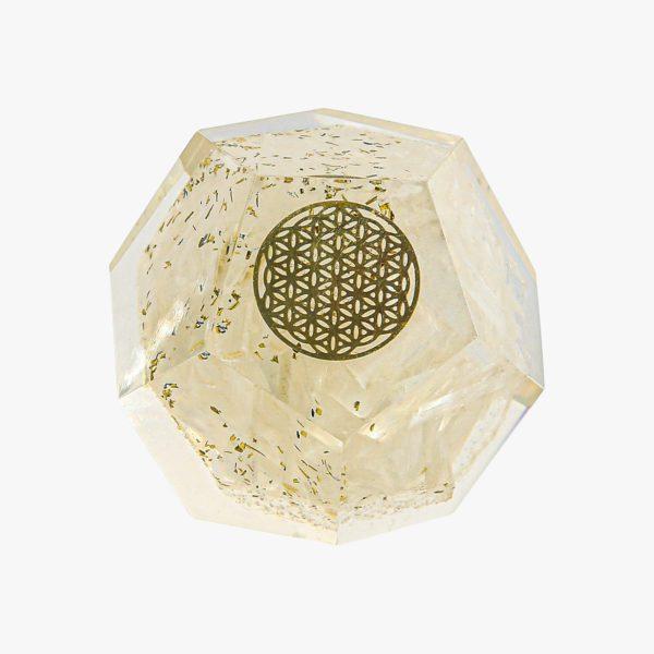 buy Orgone Dodecahedron selenite