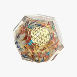 buy Orgone seven chakra Dodecahedron wholesale online