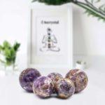 Amethyst spheres wholesale