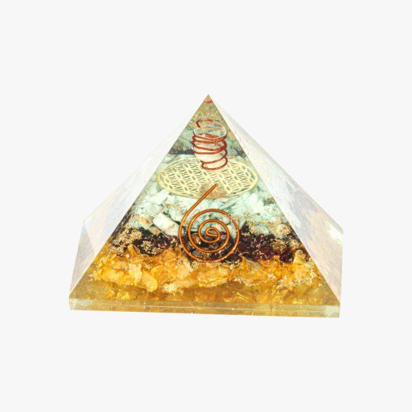 buy Green Aventurine Red Garnet Citrine pyramid