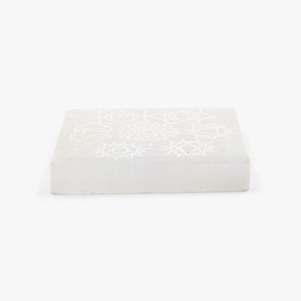 buy Selenite Chakra Charging plate wholesale online