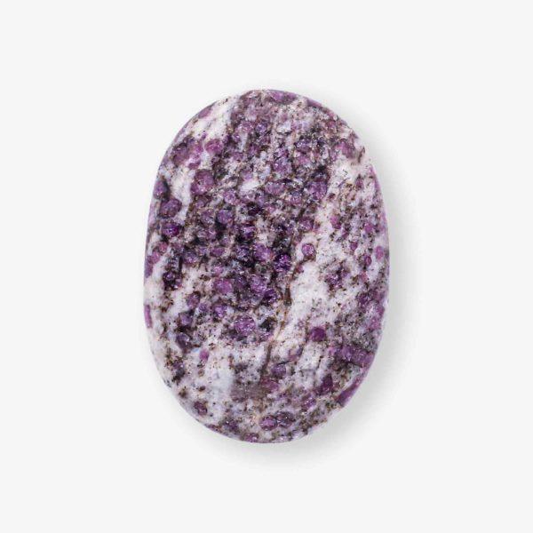 Ruby Quartz Matrix palm stones online