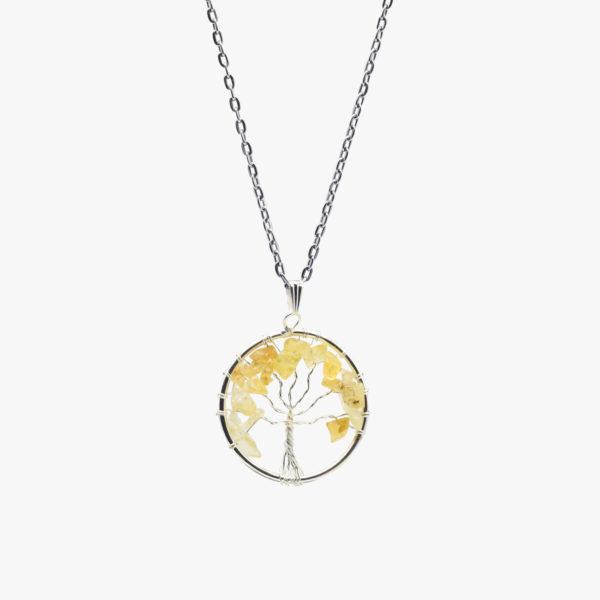 buy citrine tree of life pendant wholesale online