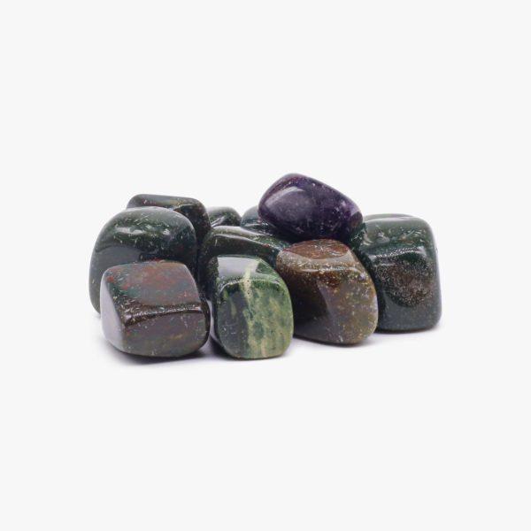 Buy Bloodstone tumbled stone wholesale online