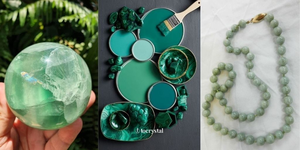 Jade crystal products