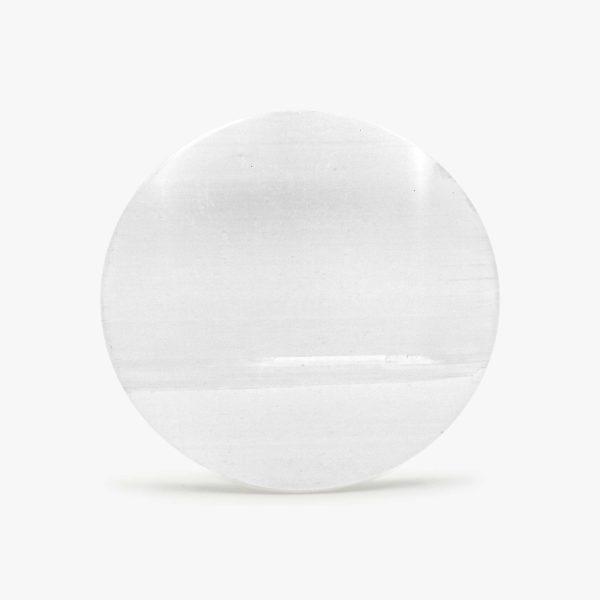 round selenite charging plate