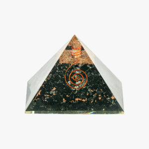 Black Tourmaline orgone pyramid