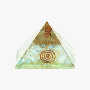 opalite orgone pyramid