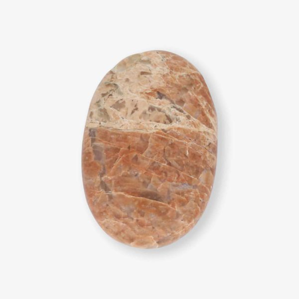 Buy peach moonstone palm stone wholesale online