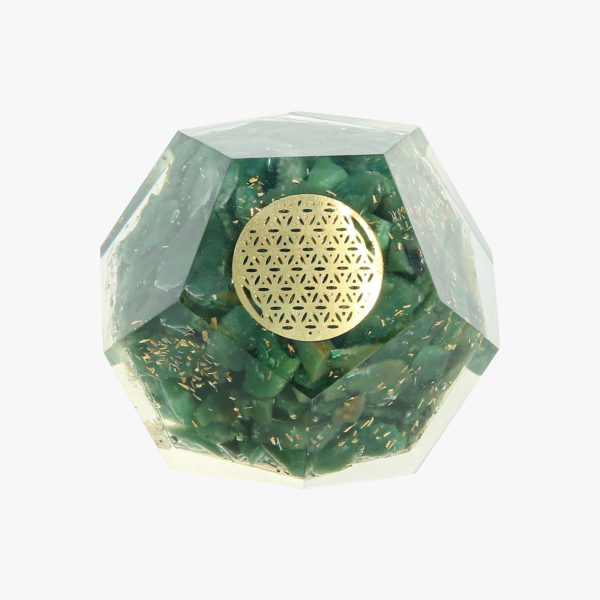 Green Aventurine Dodecahedron