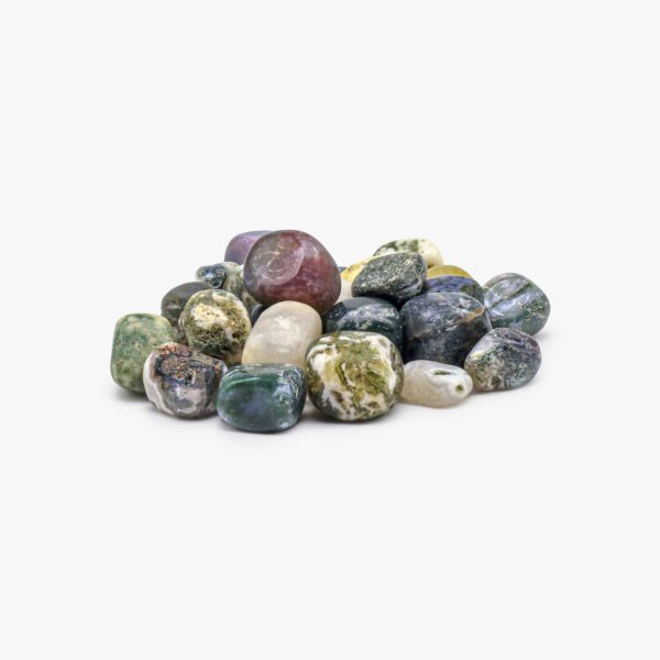 Buy Moss agate Tumbled stone wholesale online