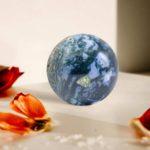 bulk moss agate sphere