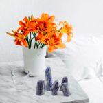 Freeform iolite crystal for sale