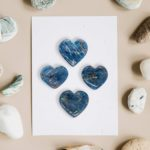 Blue Apatite hearts online