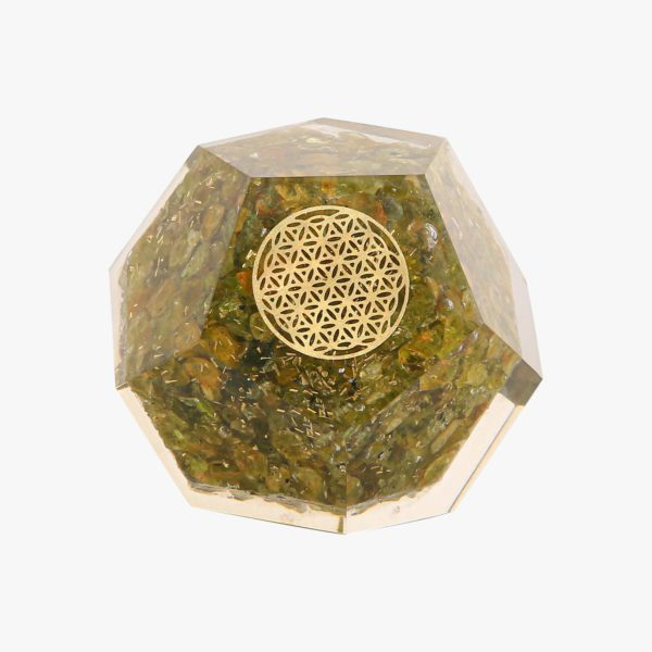 buy Peridot Dodecahedron online