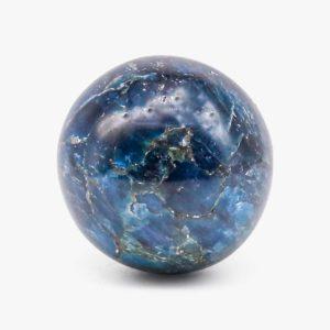 Blue Apatite sphere
