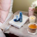 healing crystal Apatite stone tower