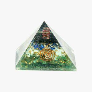 Buy Black Tourmaline, Lapis Lazuli, Amazonite, and Green Jade pyramid wholesale online